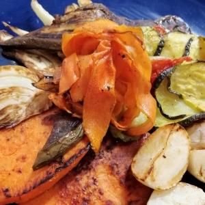 Assiette de légumes du moment