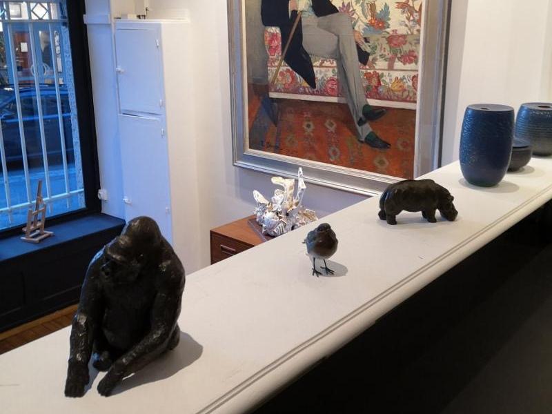 Expo Galerie Grégoire Courtois à Dinard